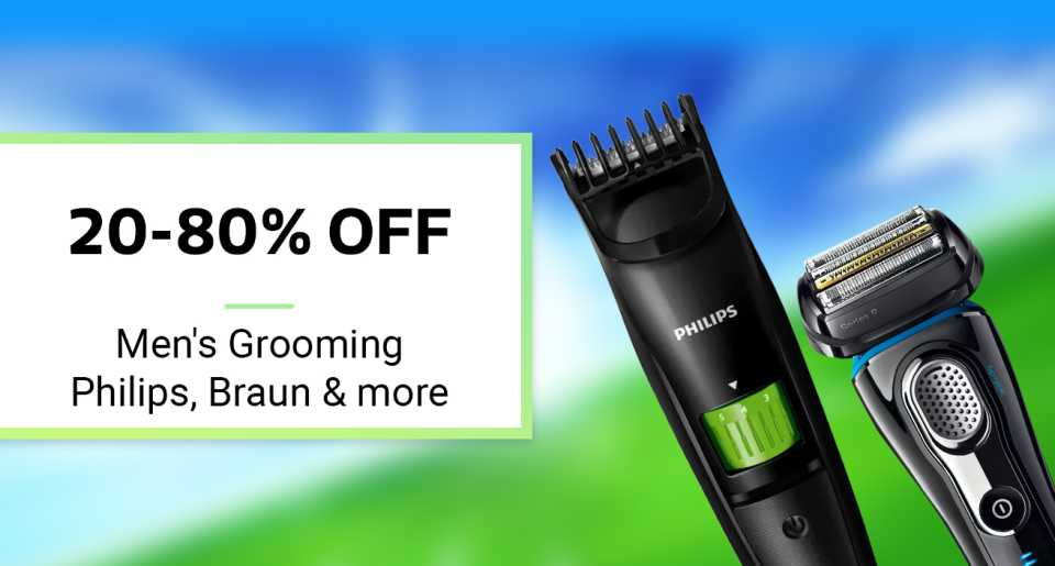 Personal Care Appliances minimum 30% off from Rs. 159 – FlipKart